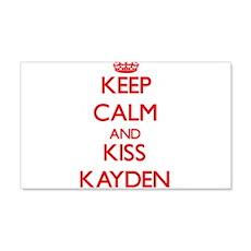 Keep Calm and Kiss Kayden Wall Decal