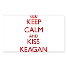 Keep Calm and Kiss Keagan Decal