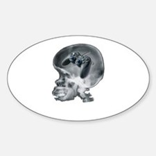 PS2 X Ray Oval Decal