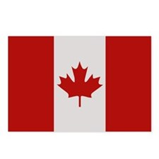 """Canada Flag"" Postcards (Package of 8)"