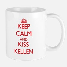 Keep Calm and Kiss Kellen Mugs