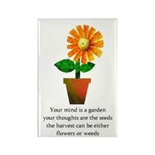 Spiritual Gardening Rectangle Magnet