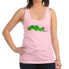 Gastroschisis awareness ribbon Racerback Tank Top