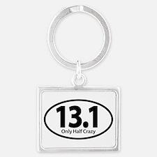 Half Marathon - Only Half Crazy Keychains