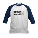 Dewey Does It! Kids Baseball Jersey