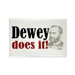 Dewey Does It! Rectangle Magnet (10 pack)