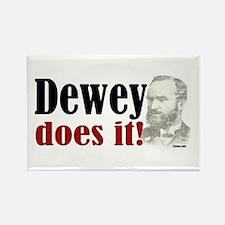 Dewey Does It! Rectangle Magnet