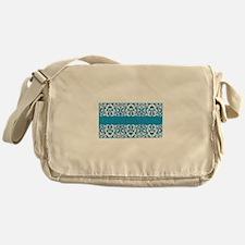 Mediterranean Inspired Motif Messenger Bag