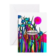 phlebotomist 5 Greeting Cards