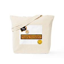 Happy Scrapper Tote Bag