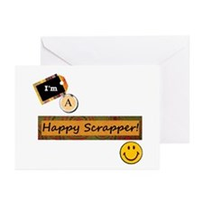 Happy Scrapper Greeting Cards (Pk of 10)