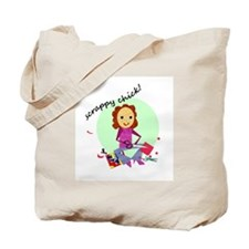 Scrappy Chick Tote Bag