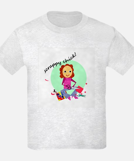 Scrappy Chick T-Shirt