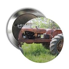 """Tractor life 2.25"""" Button"""