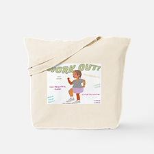 Woman's Workout Tote Bag