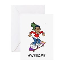 Awesome! Greeting Card