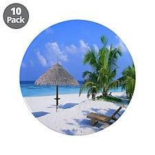 """Beach Rest 3.5"""" Button (10 pack)"""
