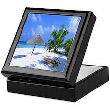 Beach Rest Keepsake Box