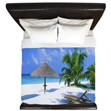 Beach Rest King Duvet
