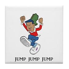 Jump Jump Jump Tile Coaster