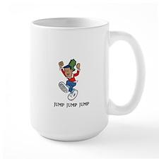 Jump Jump Jump Large Mug