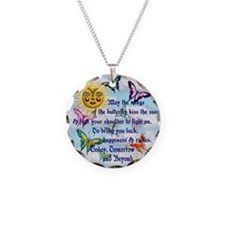 Harvest Moons Butterfly Kiss Necklace