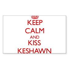 Keep Calm and Kiss Keshawn Decal