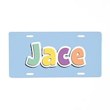 Jace Spring14 Aluminum License Plate