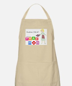 Mom is going to flip out BBQ Apron