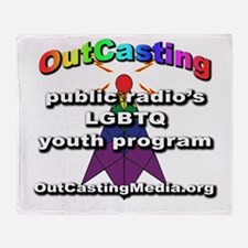 OutCasting - OCMedia Throw Blanket