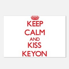 Keep Calm and Kiss Keyon Postcards (Package of 8)
