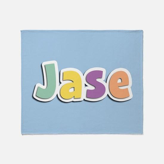 Jase Spring14 Throw Blanket