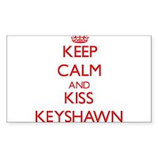 Keep Calm and Kiss Keyshawn Decal