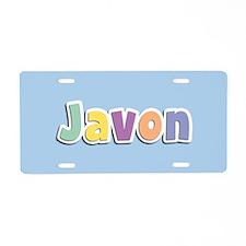 Javon Spring14 Aluminum License Plate