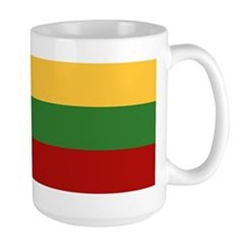 """""""Lithuania Flag"""" Mug"""