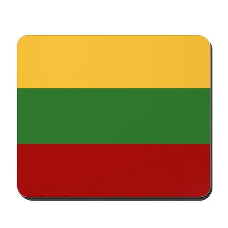 """""""Lithuania Flag"""" Mousepad"""