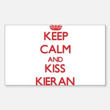 Keep Calm and Kiss Kieran Decal