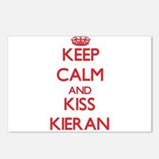 Keep Calm and Kiss Kieran Postcards (Package of 8)