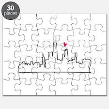 Chicago Skyline Puzzle
