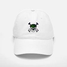 Baillie Tartan Skull Baseball Baseball Cap