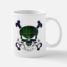 Baillie Tartan Skull Mug