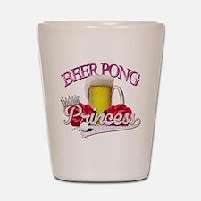 Beer Pong Princess style Shot Glass