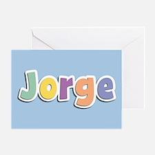 Jorge Spring14 Greeting Card