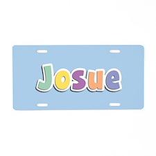 Josue Spring14 Aluminum License Plate