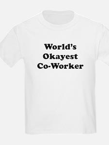 World's Okayest Worker T-Shirt