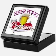Beer Pong Princess style Keepsake Box