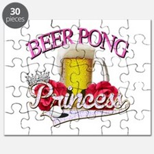 Beer Pong Princess style Puzzle