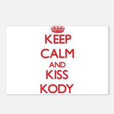 Keep Calm and Kiss Kody Postcards (Package of 8)