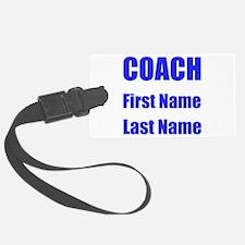 Coach Luggage Tag