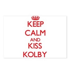 Keep Calm and Kiss Kolby Postcards (Package of 8)